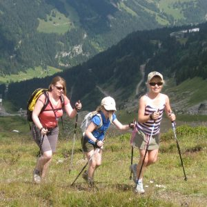 NOrdic Walking is not just for oldies